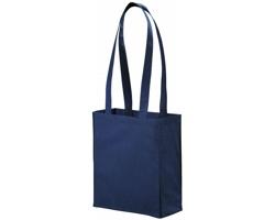 Netkaná nákupní taška SCARY s dlouhými uchy - námořní modrá