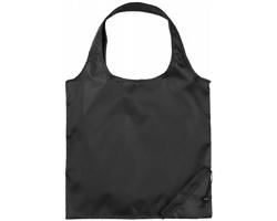 Polyesterová skládací nákupní taška GREED - černá