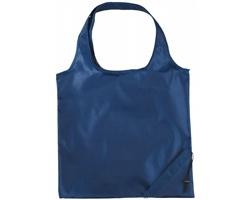 Polyesterová skládací nákupní taška GREED - námořní modrá