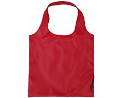 Polyesterová skládací nákupní taška GREED - červená