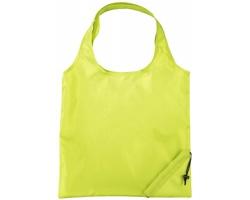 Polyesterová skládací nákupní taška GREED - jemně zelená