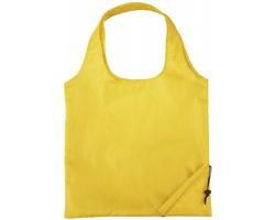 Polyesterová skládací nákupní taška GREED - žlutá