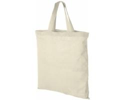 Bavlněná taška LAVER s krátkými držadly do ruky - přírodní
