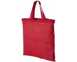 Bavlněná taška LAVER s krátkými držadly do ruky - červená