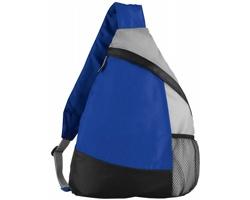 """Městký batoh typu """"sling"""" CHEAP - královská modrá / černá / šedá"""