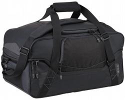 Prostorná cestovní taška Elevate COSMO s rozdělením hlavního prostoru - černá