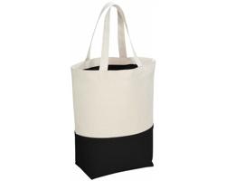 Bavlněná nákupní taška POPITO - přírodní / černá