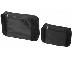 Sada dvou polyesterových cestovních tašek KABOB - černá
