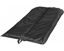 Polyesterový vak na oblečení PAMY se zapínání na zip - černá