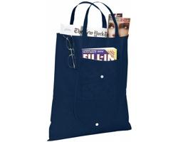 Netkaná skládací nákupní taška STUDLEY - námořní modrá