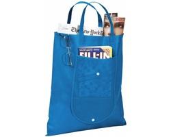 Netkaná skládací nákupní taška STUDLEY - modrá