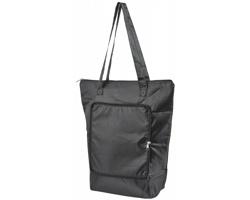 Skládací chladicí taška BONER s dlouhými ramenními popruhy - černá