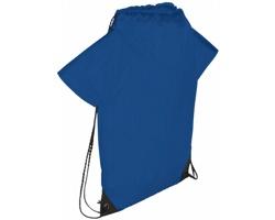 Polyesterový stahovací batůžek REDD se zpevněnými rohy - královská modrá
