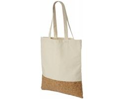 Bavlněná taška DAREL s korkovým dnem - přírodní / přírodní
