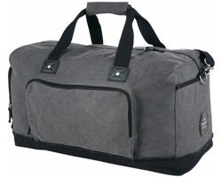 Cestovní víkendová taška Field & Co ADOLF - šedá / černá