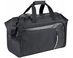 Prostorná cestovní taška HONDA s technologií RFID v přední kapse - černá