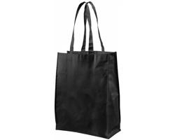 Netkaná nákupní taška ARMED střední velikosti - černá