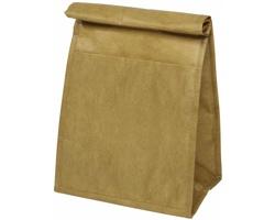 Laminovaná chladicí taška DADA s papírovým designem - přírodní