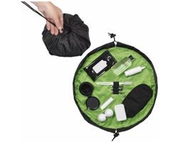 Skládací toaletní taška FOOL - jemně zelená