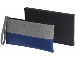 Kosmetická taška TINA s poutkem - modrá