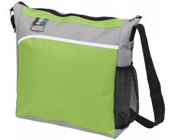 Polyesterová taška přes rameno MUGGERS - jemně zelená