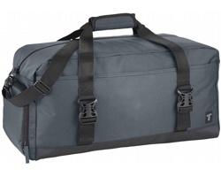 Velká cestovní taška PRECIOUS s odolným dnem - šedá