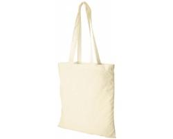 Bavlněná nákupní taška MACKU s otevřeným hlavním prostorem - přírodní
