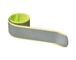 Reflexní samonavíjecí pásek AZOTH - neonově žlutá