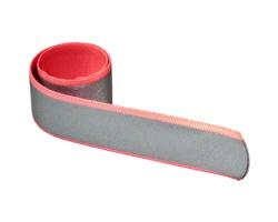 Reflexní samonavíjecí pásek AZOTH - neonově růžová
