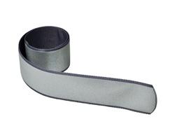 Reflexní samonavíjecí pásek AZOTH - světle šedá