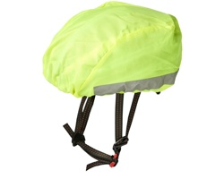Reflexní a voděodolný kryt helmy GLEE - neonově žlutá