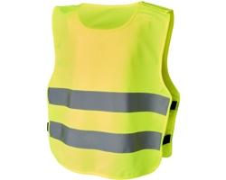 Dětská bezpečnostní vesta VITTA - neonově žlutá