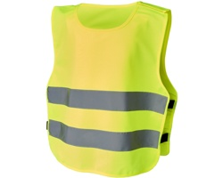 Dětská bezpečnostní vesta RUSE - neonově žlutá