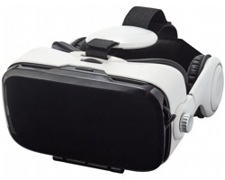 Souprava pro virtuálmí realitu SLEEP se sluchátky - bílá
