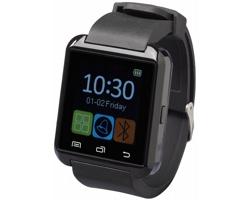 Chytré hodinky PARKY s LCD displejem, 4 funkce - černá