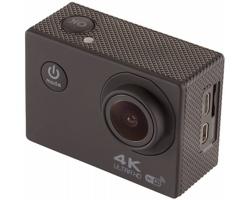 Sportovní wi-fi kamera TAPA s nepromokavým pouzdrem - černá