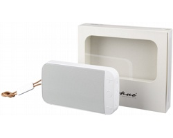 Vodotěsný outdoorový reproduktor FUNGI s bluetooth - bílá