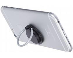 Plastový kroužek na mobilní telefon GOOKS - černá