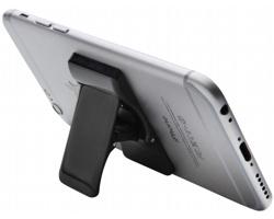 Plastový stojánek na chytrý telefon QUELL - černá