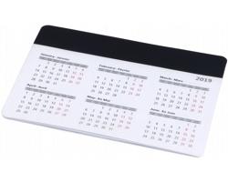 Podložka pod myš MEADOW s kalendářem - černá