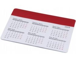 Podložka pod myš MEADOW s kalendářem - červená
