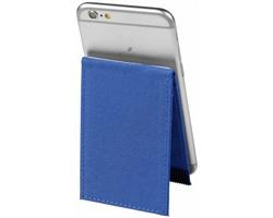 Pouzdro na karty CENTRAL s RFID ochranou a stojánkem - královská modrá
