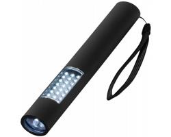 Magnetická LED svítilna LEGE s 28 světly - černá