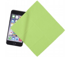 Čisticí hadřík z mikrovlákna JAMB pro displeje chytrých telefonů - jemně zelená