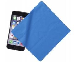 Čisticí hadřík z mikrovlákna JAMB pro displeje chytrých telefonů - modrá