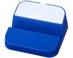 Plastový USB rozbočovač YACK se stojánkem na chytrý telefon, 3 USB porty - královská modrá