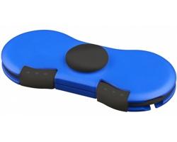Silikonový spinner ASPEN s nabíjecím kabelem - královská modrá