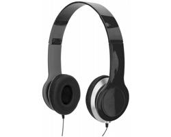 Skládací sluchátka DISTR - černá