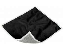 Polyesterová čistící utěrka na displej RIMS - černá