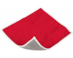 Polyesterová čistící utěrka na displej RIMS - červená